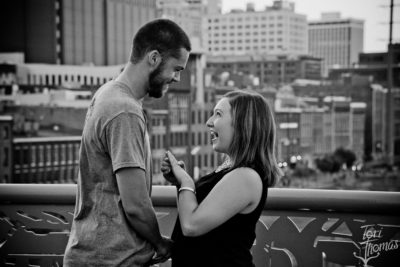 Downtown Nashville Engagement Fall 2016