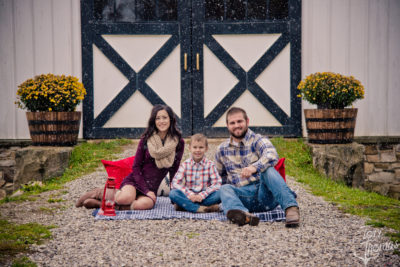 Briana & Jake's Family Session Fall 2017